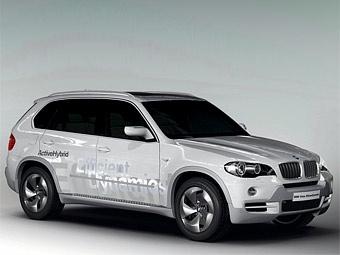 В Женеве BMW покажет дизель-гибридный X5
