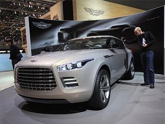 Aston Martin привез в Женеву внедорожник под маркой Lagonda