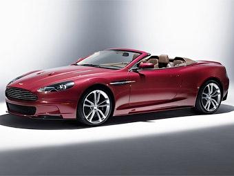 Aston Martin покажет в Женеве открытую версию суперкара DBS