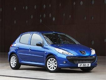 Хэтчбек Peugeot 206 обновился на одиннадцатом году жизни