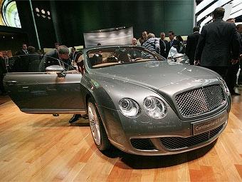 Россияне перестали покупать автомобили Bentley