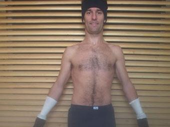Марк Уэббер лечится в криогенной камере