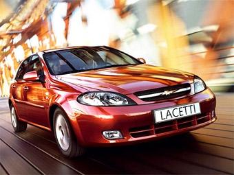 Самой продаваемой иномаркой в России стала Chevrolet Lacetti