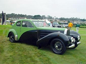 Купе Bugatti 57C Этторе Бугатти продадут за рекордную сумму