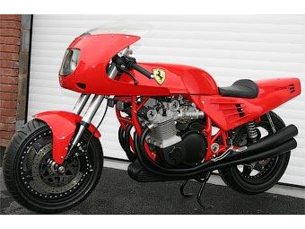 Уникальный мотоцикл Ferrari никто не купил