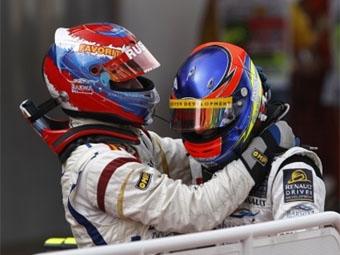 Виталий Петров финишировал вторым в первой гонке GP2 Series