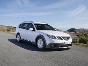 """Saab представил """"внедорожную"""" версию универсала 9-3"""