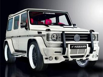 Ателье Hamann сделало тюнинговый Mercedes-Benz G55 AMG еще мощнее