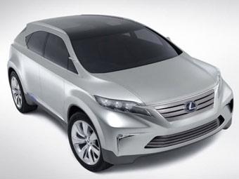 Lexus покажет в Токио новый компактный кроссовер
