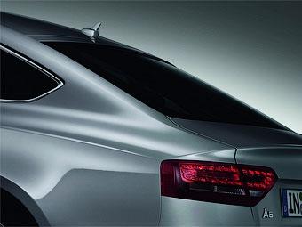 """Компания Audi частично рассекретила """"пятидверное купе"""" A5 Sportback"""