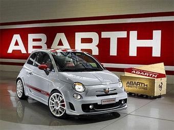 Представлены фотографии самого мощного Fiat 500