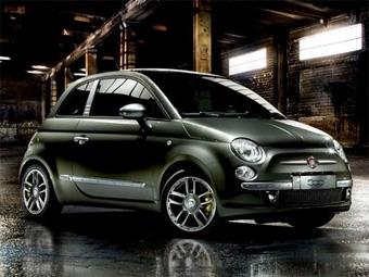 """Fiat представил """"джинсовую"""" версию модели 500"""