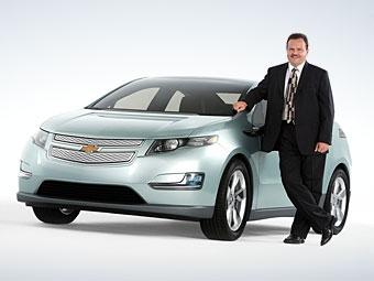 GM случайно рассекретил серийную версию гибрида Chevrolet Volt