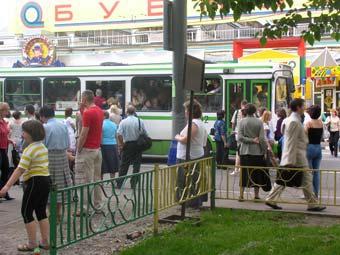 В Москве создадут полосы для общественного транспорта