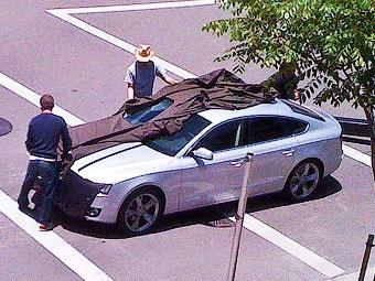 """Появились фотографии """"пятидверного купе"""" Audi A5 Sportback"""