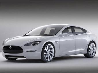Компания Tesla официально представила электрический седан
