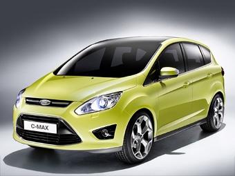 Компания Ford представит новый компактвэн C-Max во Франкфурте