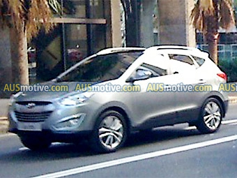 Преемника кроссовера Hyundai Tucson сфотографировали без камуфляжа