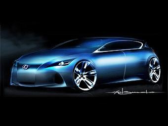 Lexus показал первое изображение новой модели