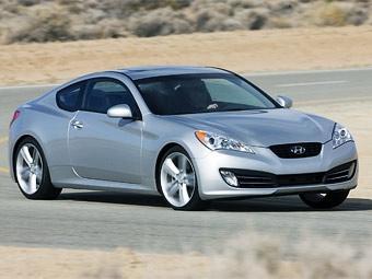 Появились первые фотографии нового купе Hyundai