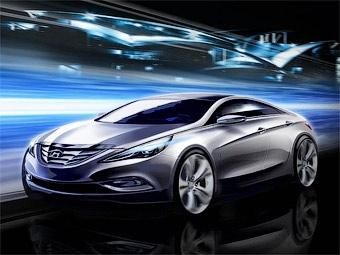 Компания Hyundai рассекретила новую Sonata одновременно со шпионами