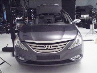 Замену Hyundai Sonata сфотографировали без камуфляжа