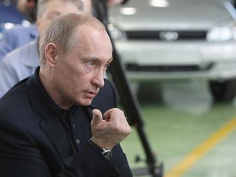 """Путин поручил правительству разработать новую программу поддержки """"АвтоВАЗа"""""""