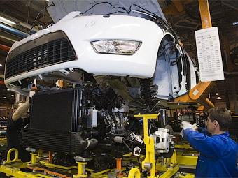 Российский завод Ford возобновил выпуск автомобилей