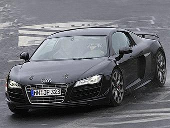 Audi готовит трековую версию суперкара R8