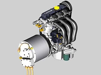 Lotus покажет во Франкфурте собственный двигатель для гибридов