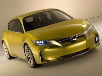 Компания Lexus рассекретила внешность новой модели