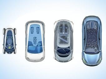 Renault привезет во Франкфурт прототипы четырех серийных электрокаров