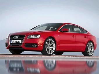 В России начались продажи большого хэтчбека Audi A5 Sportback