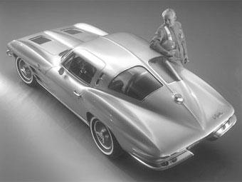 Новый Chevrolet Corvette получит дизайн в ретро-стиле
