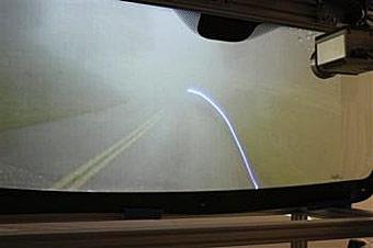 Лазеры будут проецировать дорожную обстановку на лобовое стекло
