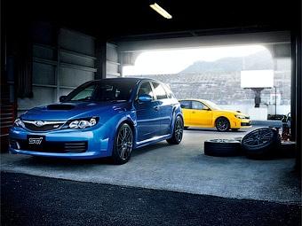 Компания Subaru представила облегченную версию Impreza WRX STI