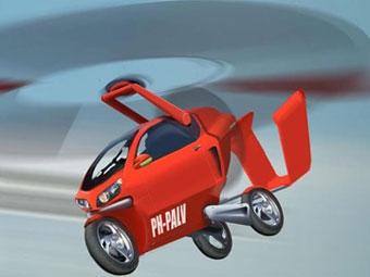Летающий мотоцикл PAL-V готовится к серийному производству