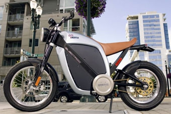 Производитель суперкаров разработал мотоцикл с электромотором
