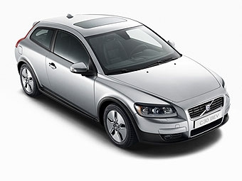 Компания Volvo представила электрокар на базе хэтчбека С30