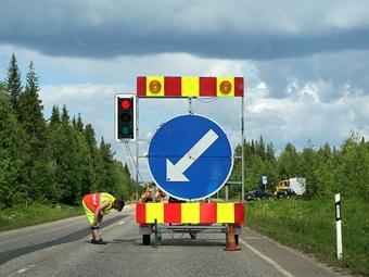 В Санкт-Петербурге из-за ремонта дорог стало больше аварий