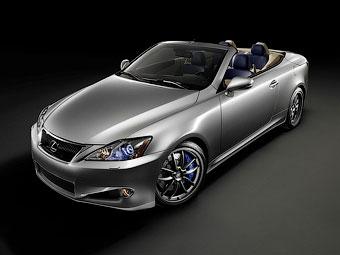 """""""Заряженный"""" Lexus IS-F станет кабриолетом через два года"""
