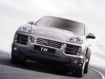 Китайская компания BYD будет выпускать клон Porsche Cayenne