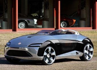Bertone представила в Женеве концепт-кар на базе Fiat Panda