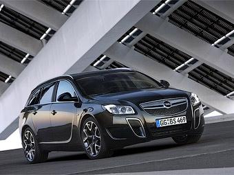 Компания Opel официально представила самый мощный универсал Insignia