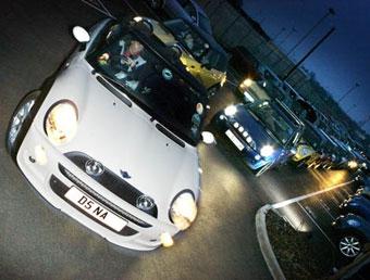 Автомобили Mini установили новый мировой рекорд
