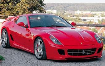 Novitec Rosso доработало Ferrari 599 GTB Fiorano