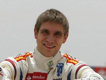 Виталий Петров занял третье место в квалификации стартового этапа GP2 Series