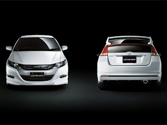 Ателье Mugen улучшило аэродинамику гибрида Honda Insight