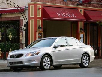 В апреле самой покупаемой машиной в США стал седан Honda Accord