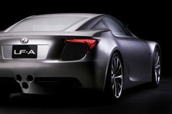 Lexus подтвердил разработку гибридного суперкара